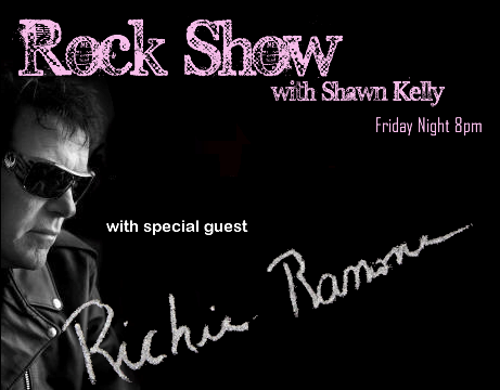The Rock Show returns on March 8 at 8pm with special guest Richie Ramone